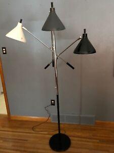 MID CENTURY MODERN Thurston Lightolier Sarfatti Arredoluce FLOOR LAMP MCM Eames