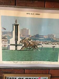 Vintage horseracing memorabilia - framed photo Hillarys Joondalup Area Preview