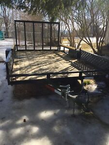 12ft trailer for sale!