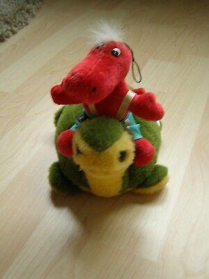 Stofftier * Plüschtier * Schildkröte und Dino