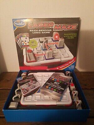 Laser Maze Game (ThinkFun Laser Maze Game 100% Complete Excellent Condition)