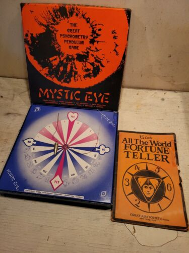 Mystic Eye Game All The World Fortune Teller Book Palm Reading Dream Interp. - $65.00