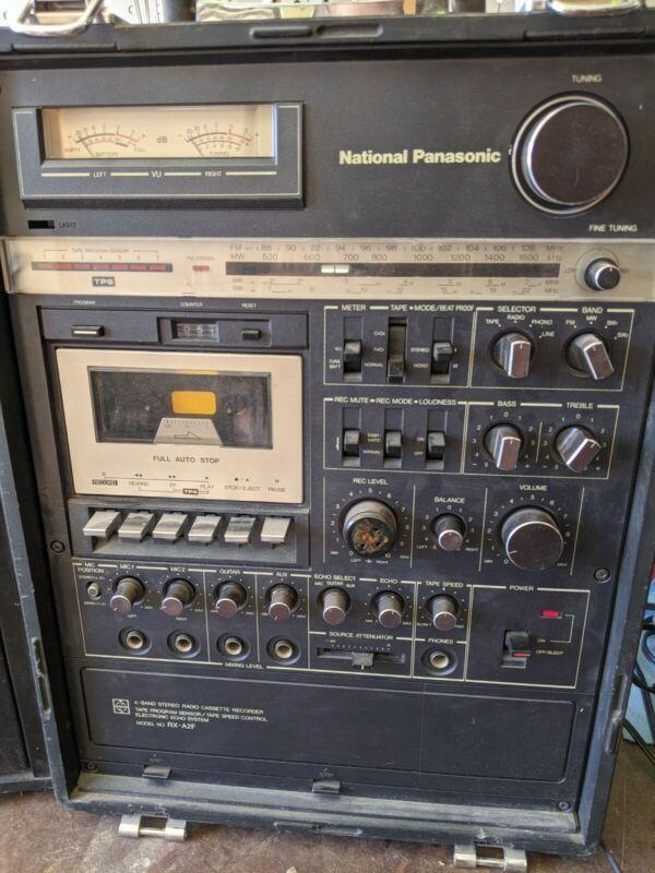 National Panasonic RX-A2F 4 Band Stereo Radio Recorder