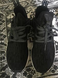 Size 5.5 NMD XR1 Prime Knit Core Black Glitch Trade for size 5