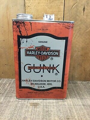 Harley Davidson Gunk Gallon Can,Reproduction Classic Looking Vintage Oil Can