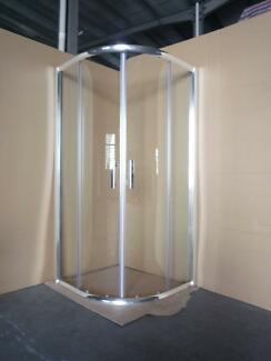 NEW CHROME SEMI SHOWER SCREEN ENCLOSURE CUBICLE - 502 Chipping Norton Liverpool Area Preview