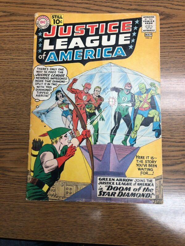 Justice league of America #4 May 1961