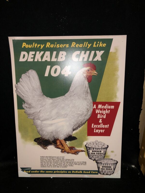"24"" Dekalb Feed Sign"