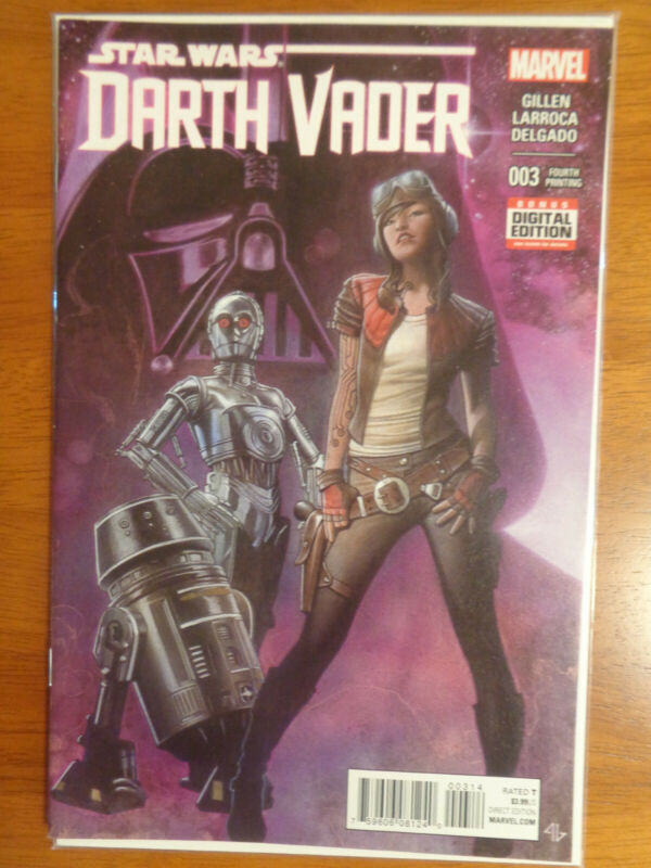 Star Wars Darth Vader #3 003 2015 Fourth 4th Printing Marvel NM