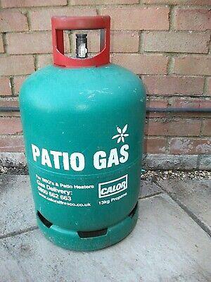 Calor Gas 13kg PATIO GAS bottle Green Propane 50% full – 6.5kg of gas BBQ - RG5