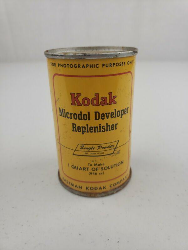 NOS Vintage Kodak Microdol Developer Replenisher Powder Makes 1 Quart