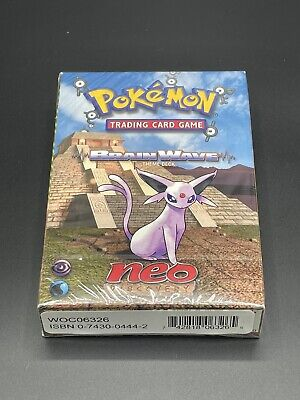 NEW Factory Sealed MINT BRAIN WAVE Pokemon Card Neo Discovery Theme Starter Deck