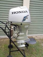 HONDA 50 HP FOUR STROKE OUTBOARD MOTOR /NOT TINNY BOAT YAMAHA Capalaba Brisbane South East Preview