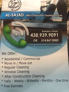 Thorough house/commercial cleaning