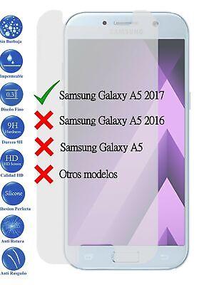 Protector de Pantalla Cristal Templado Vidrio 9H para Samsung Galaxy A5 2017