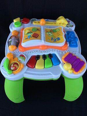 Spanish Toys (Leapfrog Learn & Groove Musical Activity Table English Spanish Baby Toddler)
