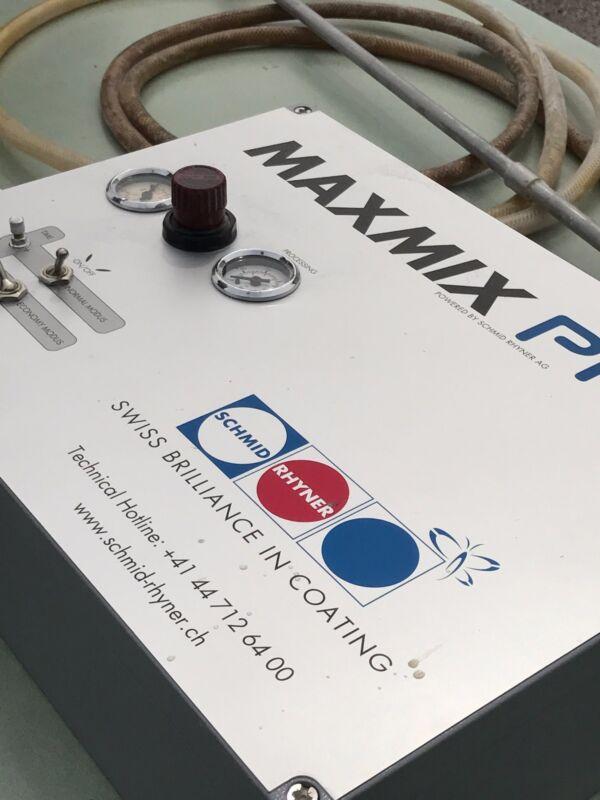 Aqueous Coating Aerator / Schmid Rhyner / Maxmix Pro