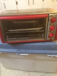 Hamilton beach 6 slice toaster oven.broiler