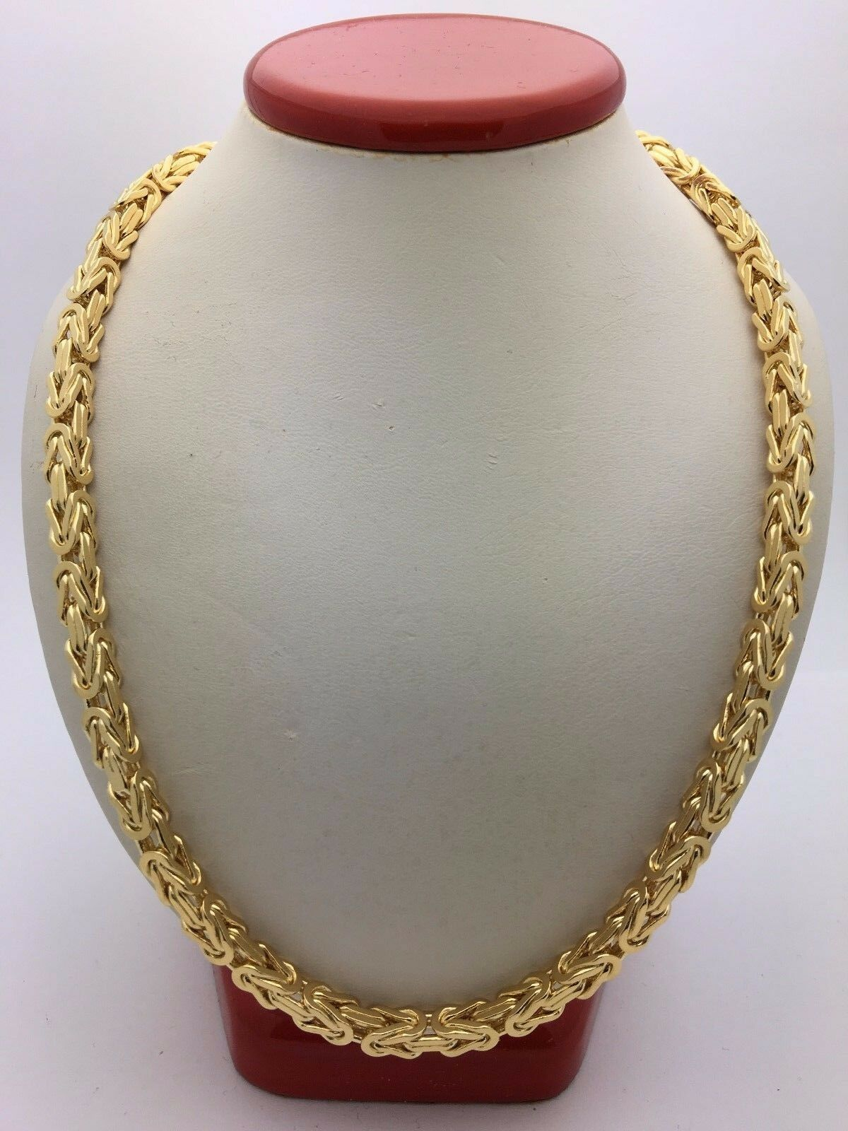 alibaba aliexpress group item in necklace necklaces solid mens byzantine com jewelry on accessories statement yellow gold chain from filled
