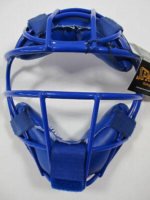 Spalding FM59 YOUTH Baseball Softball Catchers Mask Blue NEW ()