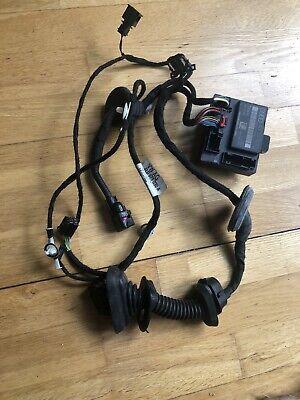 Q7 Front Left Door Cable Loom 4L0971030A Control Unit Include 4l0959792B