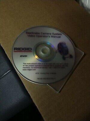 Ridgid Seasnake Plus 14053 Plumbing Sewer Drain Camera Color Reel 200