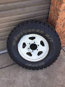 Cooper 30X9 50R15LT 104Q Discover ST Tyres (4 x Tyres and Rims) Richmond Hawkesbury Area Preview