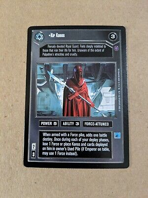 REFLECTIONS III star wars ccg swccg Near Mint Conduct Your Search