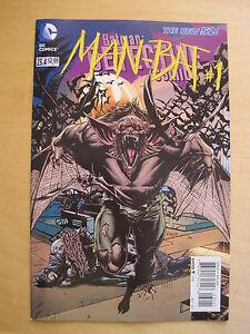 BATMAN : DETECTIVE COMICS  23.4 / MAN - BAT # 1. 2D COVER. THE NEW 52. DC. 2013
