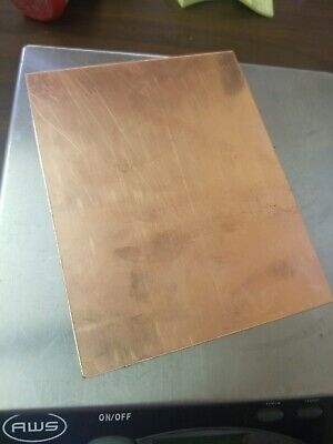 1 Copper Sheet .032 24 Oz C 10100 4x4