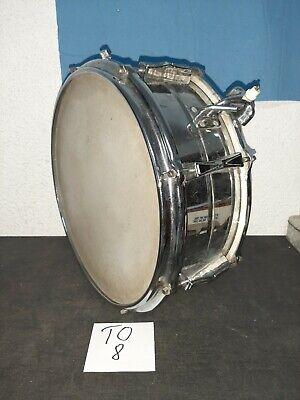 Schöne Trommel-Blechtrommel Durchmesser ca 40 cm Höhe ca 16 cm  (TO8)