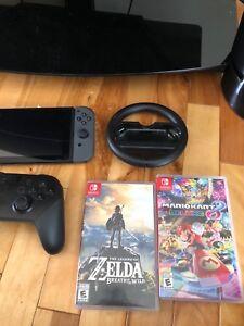 Nintendo Switch + 2 Games