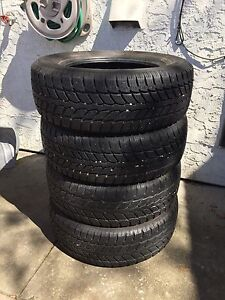 Set of four 235/65/17 Studless Winter Tires