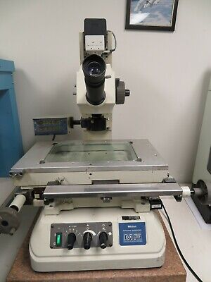 Mitutoyo Mf 176-503 Toolmakers Standard Measuring Video Microscope 2axis Readout