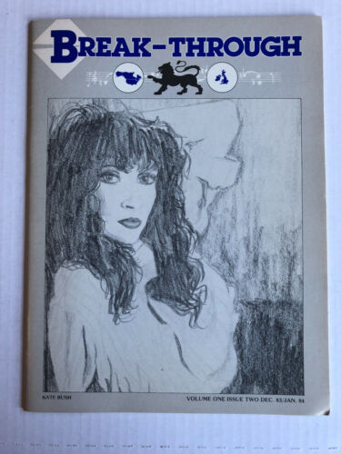 Kate Bush Break-Through fanzine vol 1 issue 2 1983/1984