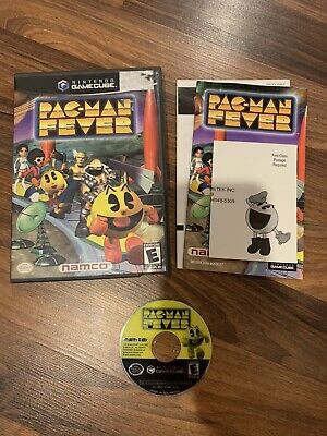Pac-Man Fever Nintendo Gamecube Complete Tested Working