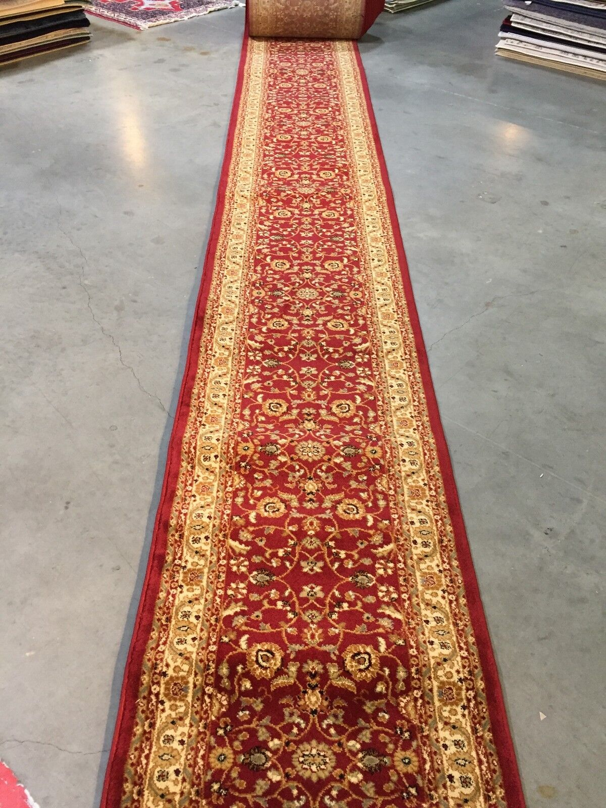 HALLWAY OR STAIR RUNNER RUG CARPET 26 INCHES WIDE