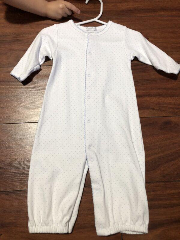 Baby Boys Kissy Kissy Converter Sleeper Gown  Size Sm (6/9 Months)