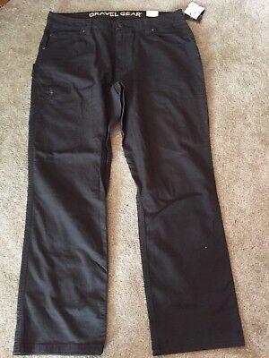 Gravel Gear 7 Pocket Carpenter Pants - Dark Brown 38 X 32