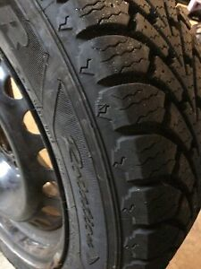 Winter tires on rims, mint condition St. John's Newfoundland image 3