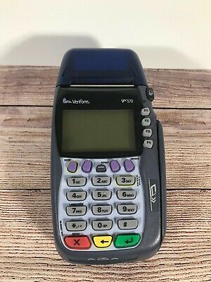 Verifone Vx570 Used Untested No Cords
