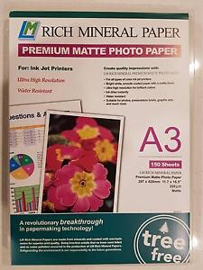 A3 Photo Paper for High Resolution Photographs Richmond Yarra Area Preview