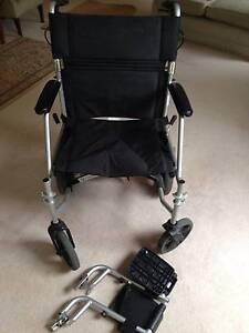 Lightweight, foldable wheel chair Bayview Pittwater Area Preview
