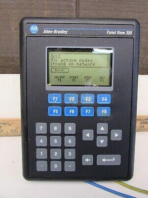 Allen Bradley Panelview-300 2711-k3a5l1 Series-b Rev-a Frn-4.41 Nice Used Takeou
