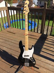 Basse Fender USA Geddy Lee a échanger