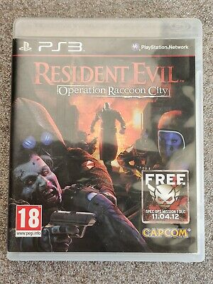 Resident Evil Operation Raccoon City FR NL Jeu Sony Playstation 3 PS3 speel game