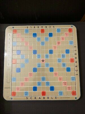1977 Scrabble Deluxe Edition Replacement Revolving Turntable Board S&R Games VTG