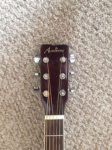 Acoustic electric academy guitar