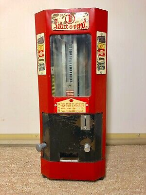 Select-O-Vend, Vintage Penny Candy and Gum Machine circa 1940's