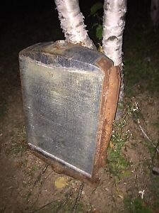 Early 20s Ford V8 Radiator approximately 60lbs